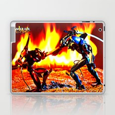 Eva-00 vs Eva-02 photoshoot Laptop & iPad Skin