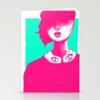 contemporary Stationery Cards featuring Contemporary Collar by Ben Geiger