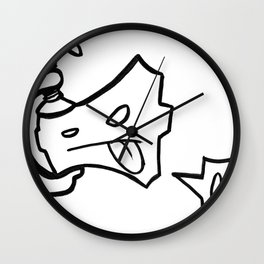 c-clamp champ Wall Clock