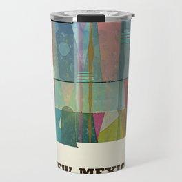 new mexico map modern Travel Mug