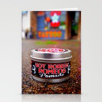 grease Stationery Cards featuring As slick as grease by Vorona Photography