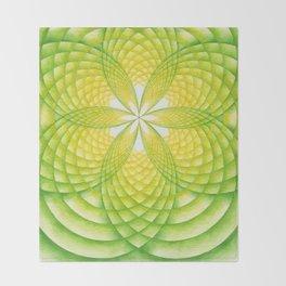 Light Seed Throw Blanket