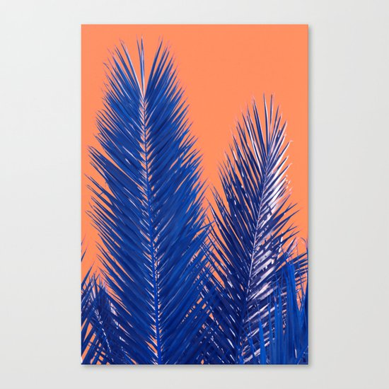 Tropical abstract(10) Canvas Print