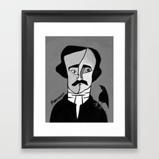 Poecasso Framed Art Print