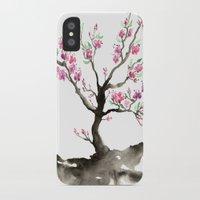 sakura iPhone & iPod Cases featuring Sakura by Brazen Design Studio