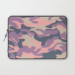 Pink Military Camouflage Pattern Laptop Sleeve