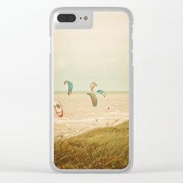Kitesurf sport Clear iPhone Case