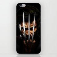 x men iPhone & iPod Skins featuring x men by Fila Venom Art