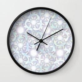 Spiraling Ghost Koi Wall Clock
