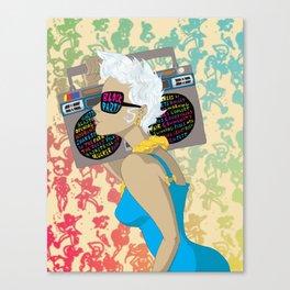 Block Party Canvas Print