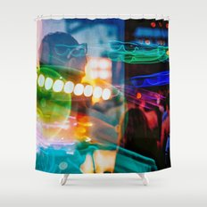 Alien Party Shower Curtain