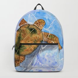 clear waters Backpack
