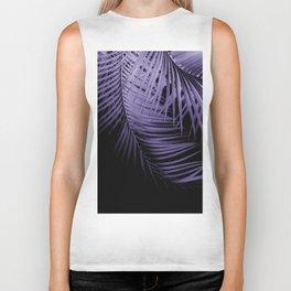 Palm Leaves Ultra Violet Vibes #1 #tropical #decor #art #society6 Biker Tank
