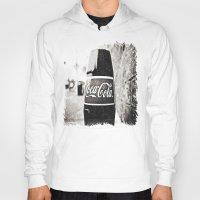 coca cola Hoodies featuring Coca-Cola closer by Vorona Photography