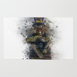 Steampunk Monkey Rug