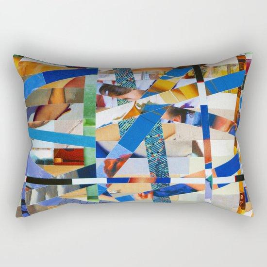 Óscar (stripes 23) Rectangular Pillow