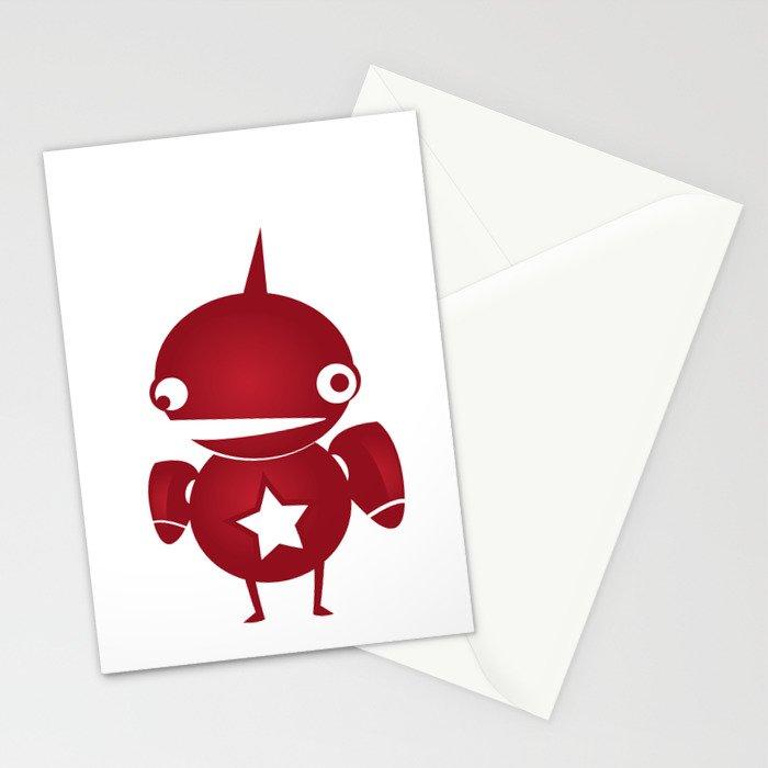 minima - slowbot 002 Stationery Cards