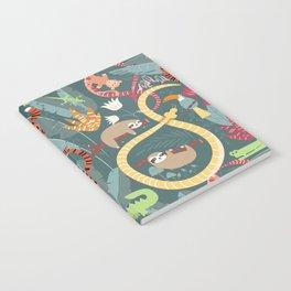 Rain forest animals 003 Notebook
