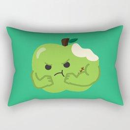 One Tough Sour Apple Rectangular Pillow