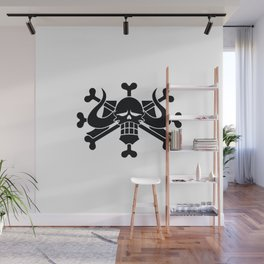 jolly roger one piece Wall Mural