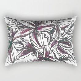 Bunch of Lilies Rectangular Pillow