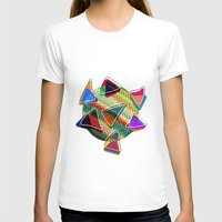 grid T-shirts featuring grid points by Matthias Hennig
