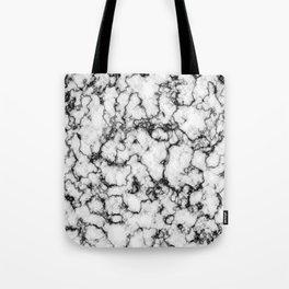 Black and White Stone Tote Bag