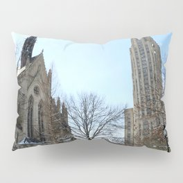 Heinz Chapel and Cathedral of Learning in winter 29 Pillow Sham