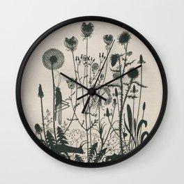 Nouveau Nature Wall Clock