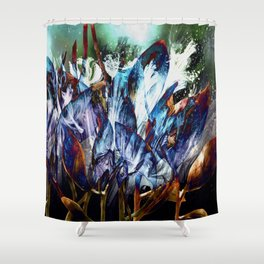 Faerie Dust II Shower Curtain
