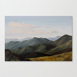 Craggy Gardens Canvas Print