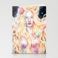 venus Stationery Cards featuring VENUS by Daniel Fernández