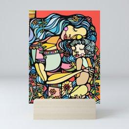 Mother and Child Mini Art Print