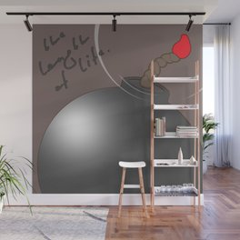 The length of life Wall Mural
