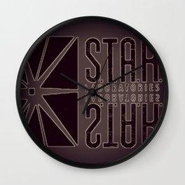 Star Labs Wall Clock
