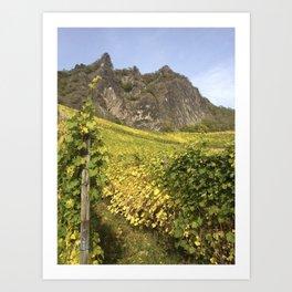 Rhineland Vineyards Art Print