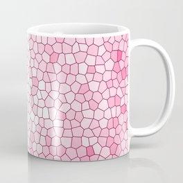 Pretty Pink Mosaic Pattern Coffee Mug