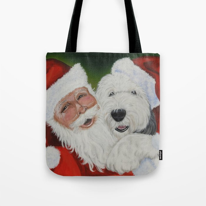 Santa/'s Kitten Helpers Tote Bag