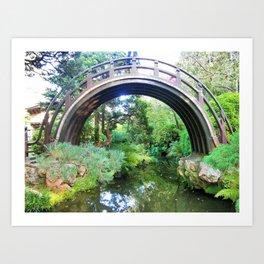 Bridge of serenity Art Print