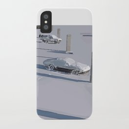 Lonely Shadows iPhone Case