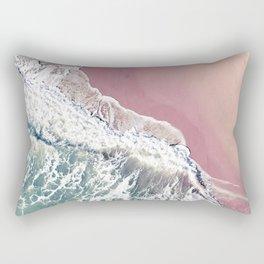 Blush Beach Rectangular Pillow