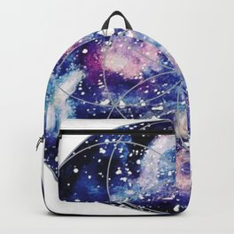 Nebula Planet with Seed of Life Backpack