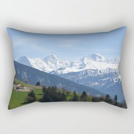Eiger Bernese Oberland Switzerland Rectangular Pillow