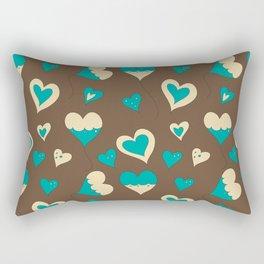Baloon Heart Rectangular Pillow