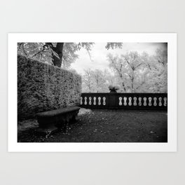 Park Bench II Art Print