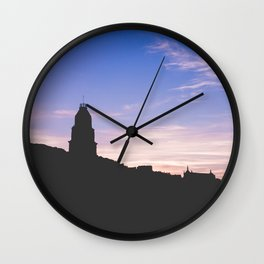 Sunset Gaeta II, Italy Wall Clock