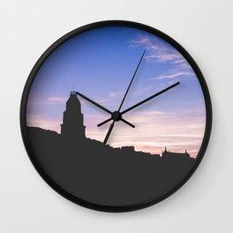 Sunset Gaeta II, Italy Wall Clock