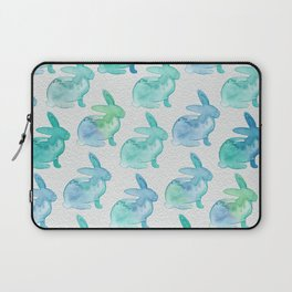 Watercolor Bunnies 1I by Kathy Morton Stanion Laptop Sleeve
