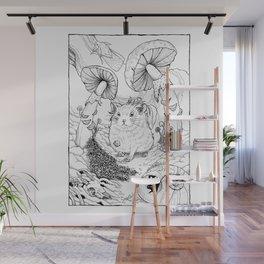 Hamster In Wonderland Wall Mural