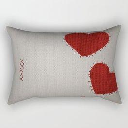 Mad Girl Rectangular Pillow